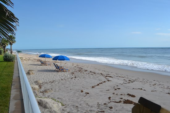 Holiday Inn Hotel & Suites Vero Beach - Oceanside: beach 20 feet from room