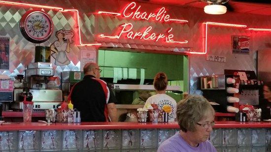 Charlie Parker's Diner : The Counter a Charlie Parker's