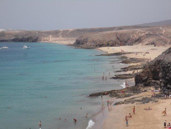 Playa de Papagayo: panoramica