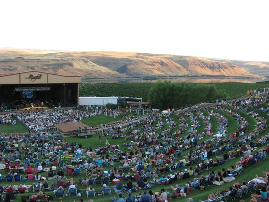 Maryhill Winery Amphitheater & Columbia River Gorge