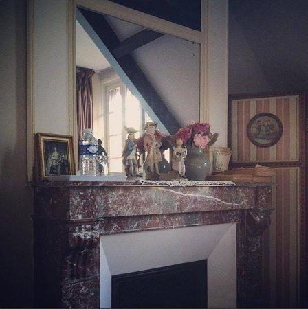 Villa Sans Souci: Deatil van Kamer 'L'anglaise et le Duc'