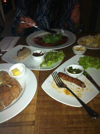 Hatraklin Bistro Meat & Wine: starters