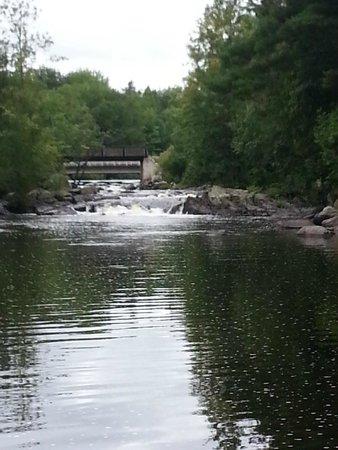 Turtle - Flambeau Flowage: Waterfall