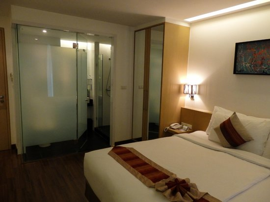 CityPoint Hotel : View of room 2