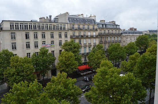 Hotel Napoleon Paris: View from our room