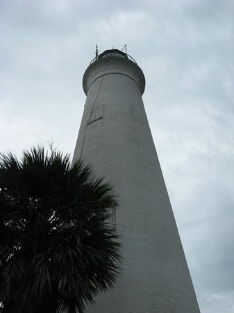 St. Marks National Wildlife Refuge: St. Mark's lighthouse