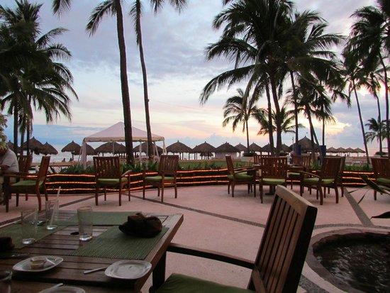 Club Regina Puerto Vallarta: View from the restaurant at the resort