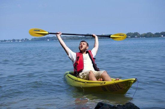 Kayak the Bay : Cheers