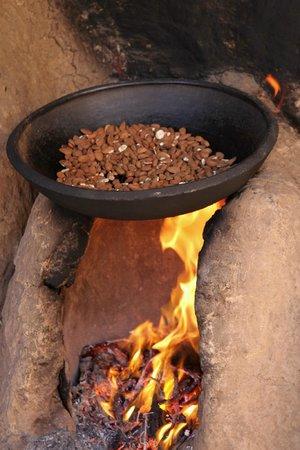 Abertih Hotel Restaurant : amandes grillées