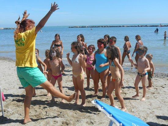 Hotel Kennedy : Baby club in spiaggia