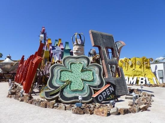 The Neon Museum: Just as good in the daytime..