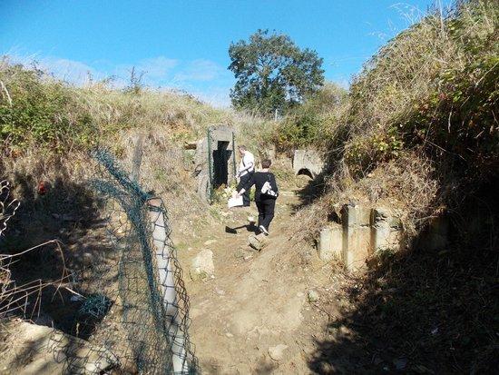 Batterie de Maisy : Underground Hospital remains