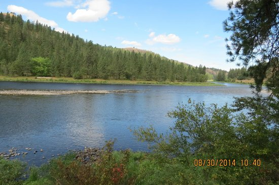 Nez Perce National Historical Park: Clearwater River, near Nez Perce