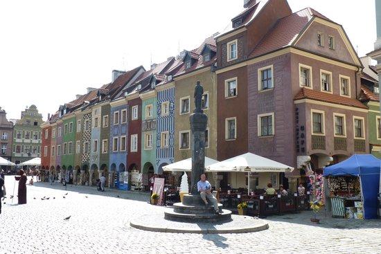Old Market Square: Façades coloées du Rynek