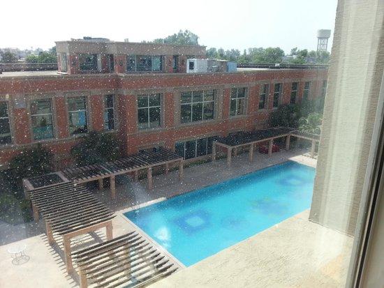 NIRVANA Hotel Banquets Club: pool view