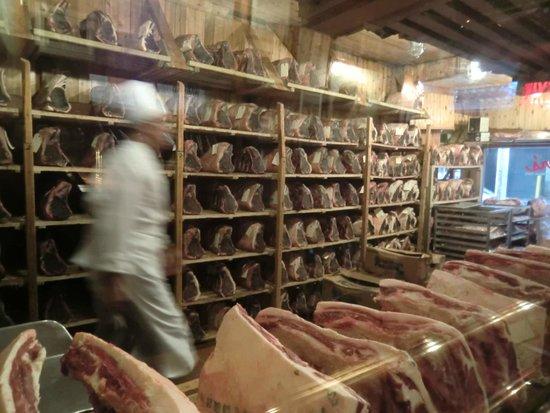 Gallagher's Steak House : séchoir à viandes
