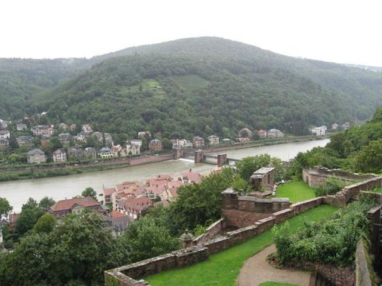 Schloss Heidelberg: view from castle