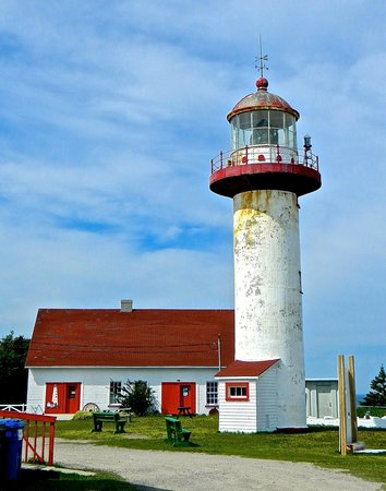 Riviere-Madeleine, Kanada: Lighthouse