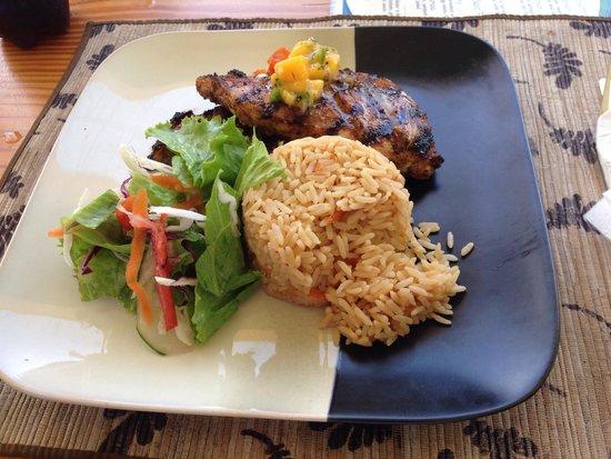 Big Citi Grill: Jamaïcan chicken