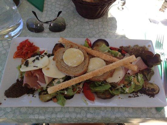 Mon Auberge : Salade italienne !