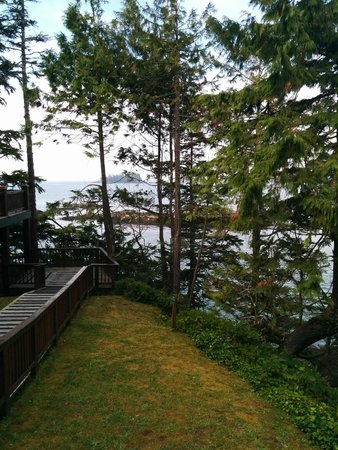 Middle Beach Lodge: View from room #40