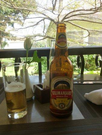 The Arusha Hotel: esplanada