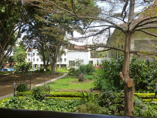 The Arusha Hotel: jardins