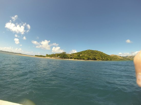 Volivoli Beach Resort Fiji: From the dive boat