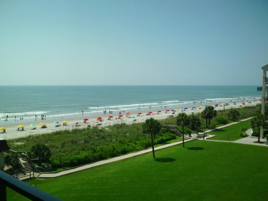 DoubleTree Resort by Hilton Myrtle Beach Oceanfront : Room view