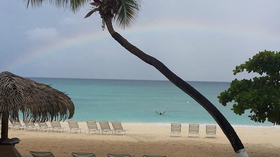 Caribbean Club : Pretty much sums up the entire vacation.  View from our villa.