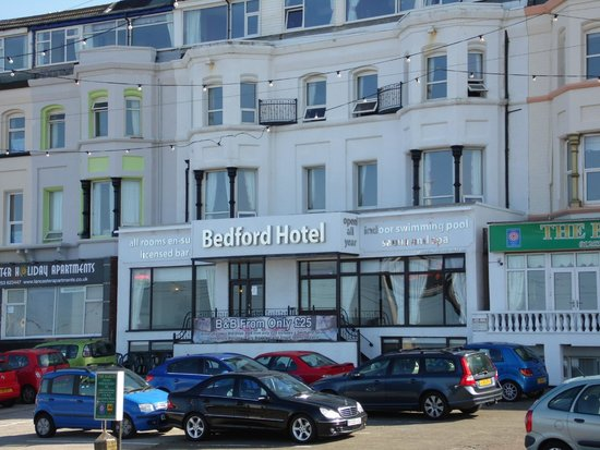 The Bedford Hotel: Front of the Hotel