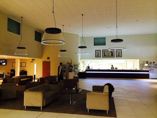 Holiday Inn Winchester : Love the fibre optic lights in the lobby