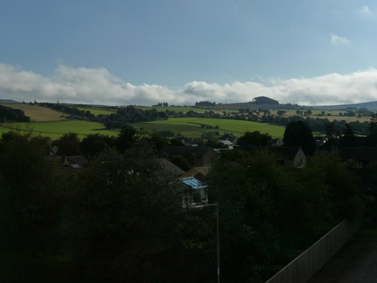 The Pitlochry Hydro Hotel: view from room