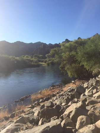 Saguaro Lake Guest Ranch: Saguaro lake ranch, river view