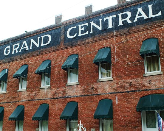 Grand Central Hotel: Historic Brick Hotel on National Historic Register