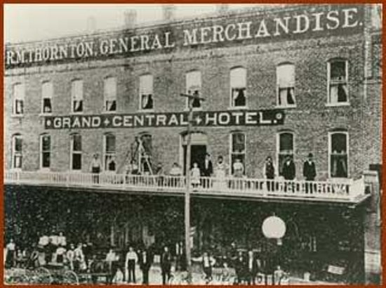 Grand Central Hotel: Loaded with history