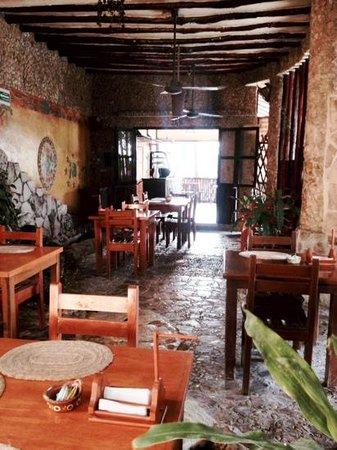 Maison Tulum : dining area