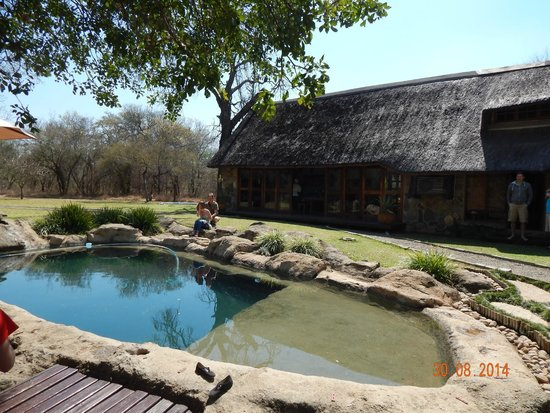 Indlovu River Lodge: Our house