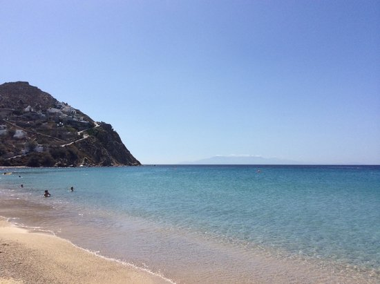 Arte & Mare Elia Mykonos Suites: Beautiful Beach!