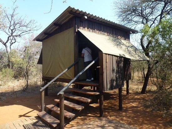 Mosetlha Bush Camp & Eco Lodge: Bungalow