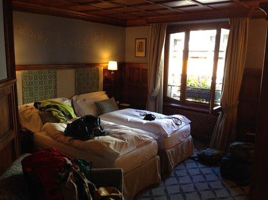 Grand Hôtel des Alpes : Room