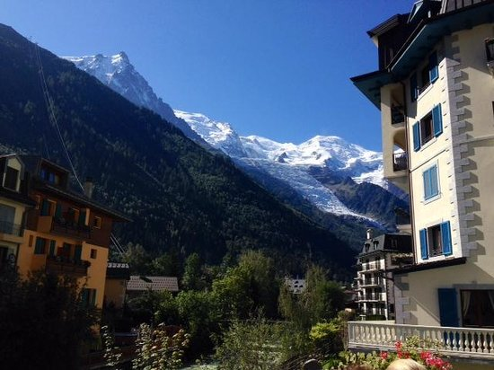 Grand Hôtel des Alpes : Mt. Blanc