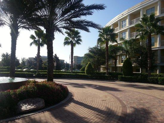 Melia Orlando Suite Hotel at Celebration: entrada principal