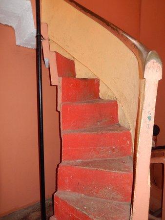 Iglesia de La Merced: Stairs to the top