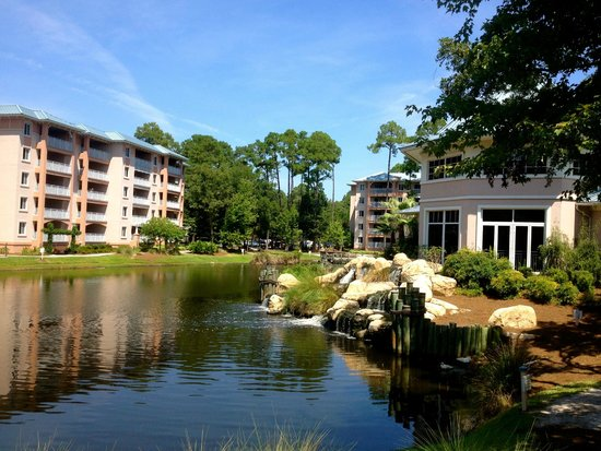 Marriott's SurfWatch : View of lake and villas