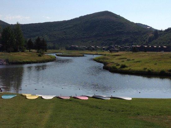 Deer Valley Resort: walk to breakfast