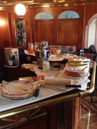 Hotel Antares : Teatime