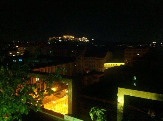 Olive Garden : Midnight View at acropolis