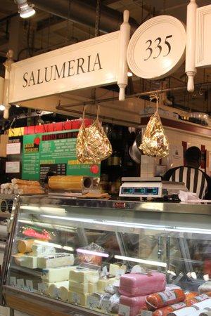 Reading Terminal Market: Salumeria