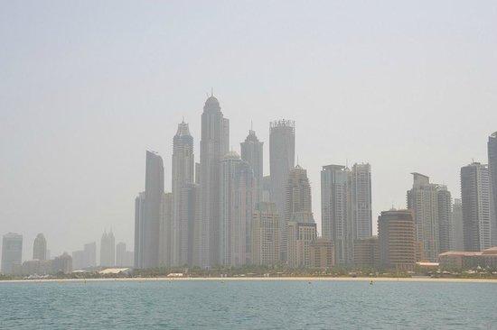 The Yellow Boats : Dubai vista do golfo